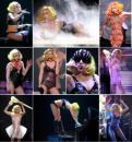 Lady GaGa『THE MONSTER BALL TOUR』生写真A64枚